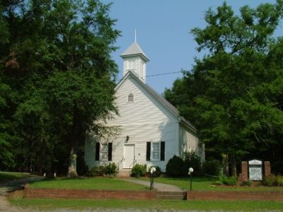 Clinton Methodist Church image. Click for full size.