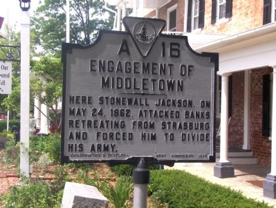 Engagement Of Middletown Marker image. Click for full size.
