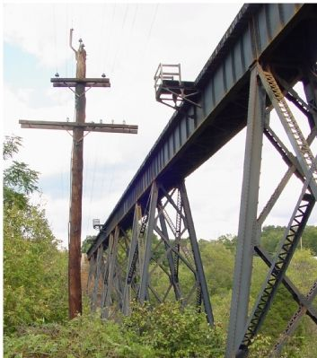Norfolk Southern Railroad Trestle Nearby image. Click for full size.