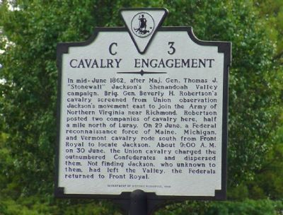 Cavalry Engagement Marker image. Click for full size.
