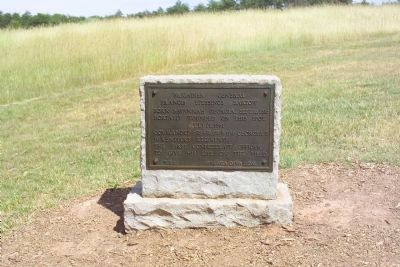 Brigadier General Francis Stebbings Bartow Marker image. Click for full size.