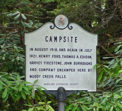 Campsite Marker image. Click for full size.