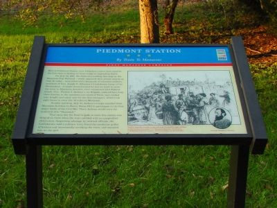 Piedmont Station Marker image. Click for full size.