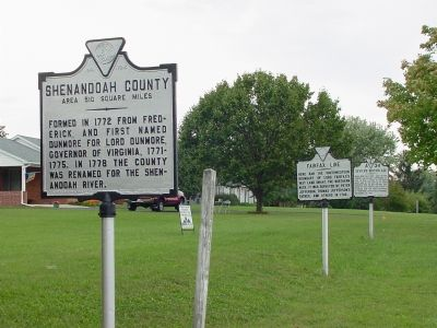 Three Markers on the County Line image. Click for full size.