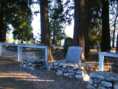 Foresthill Protestant Cemetery Marker image. Click for full size.