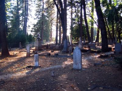 Foresthill Protestant Cemetery Gravesites image. Click for full size.