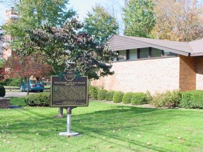 Willoughby Dayton Miller Marker image. Click for full size.