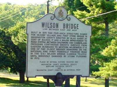 Wilson Bridge Marker image. Click for full size.
