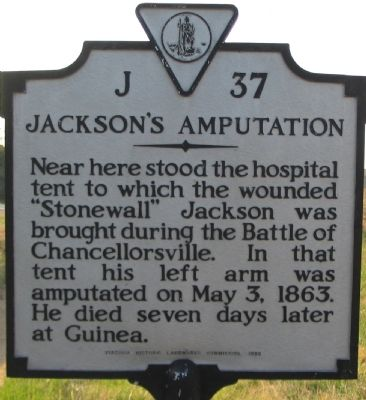Jackson's Amputation Marker image. Click for full size.