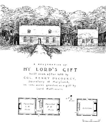 My Lord's Gift early home image. Click for full size.