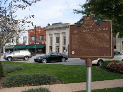 The Berea Triangle Marker image. Click for full size.
