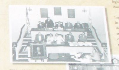 Lord de la Warr Addressing the Legislature image. Click for full size.