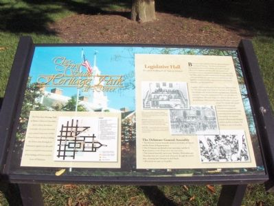 The First State Heritage Park at Dover Marker image. Click for full size.