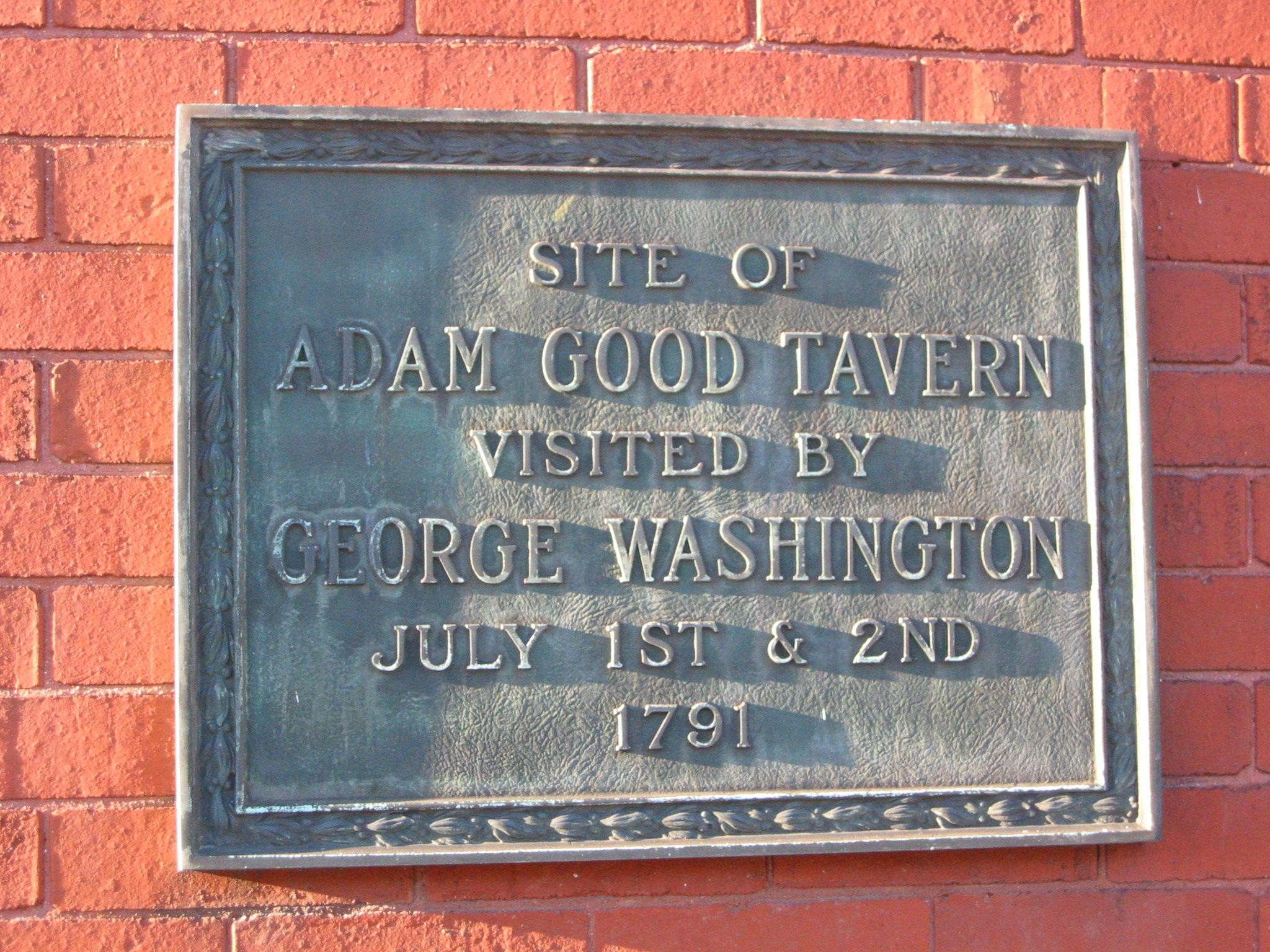 Adam Good Tavern Marker