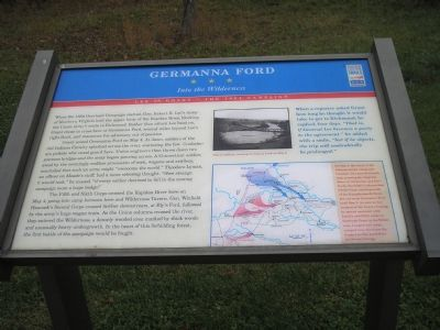 Germanna Ford - Into the Wilderness image. Click for full size.