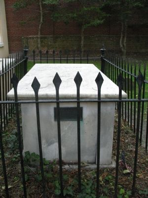 Commodore James Barron's Grave image. Click for full size.
