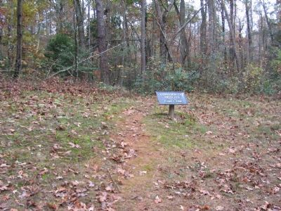 Confederate Trenches - Posey's Line image. Click for full size.