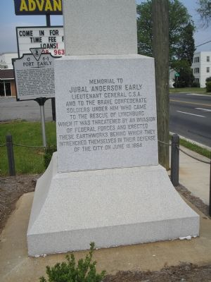 Jubal Early Memorial image. Click for full size.