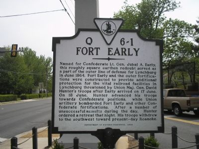 Fort Early Monument image. Click for full size.