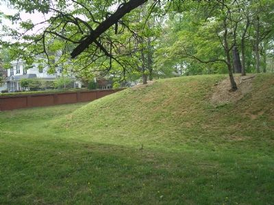Earthworks of Fort Early image. Click for full size.