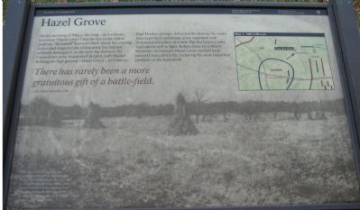 Hazel Grove Marker image. Click for full size.