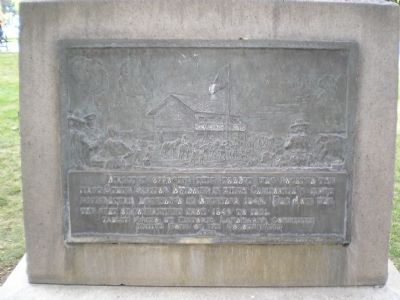 Site of California's First State Capitol Marker image. Click for full size.