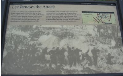 Lee Renews the Attack Marker image. Click for full size.