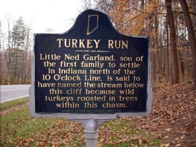 Turkey Run Marker image. Click for full size.