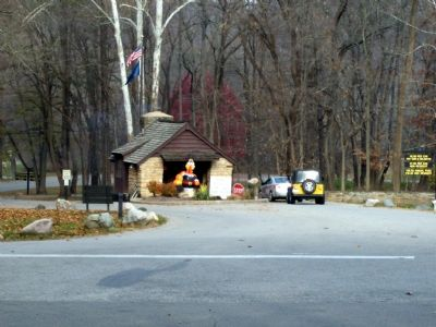 Entrance to Turkey Run State Park image. Click for full size.