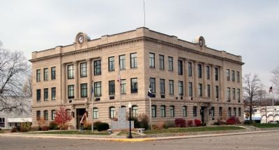 Vermillion County Courthouse image. Click for full size.