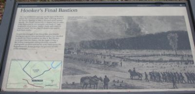 Hooker's Final Bastion Marker image. Click for full size.