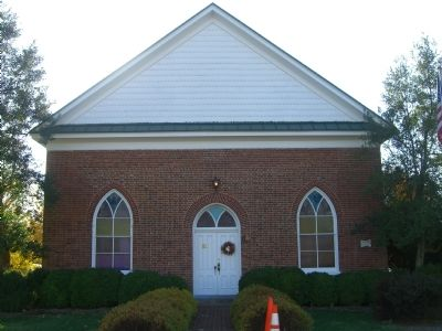 Old Berea Christian Church image. Click for full size.