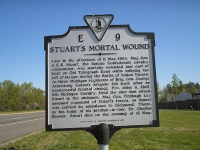Stuart's Mortal Wound marker image. Click for full size.