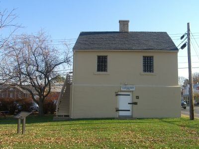 Spotsylvania County Jail and Marker image. Click for full size.