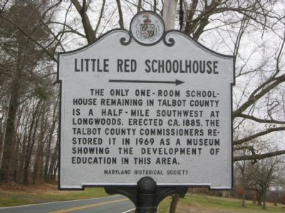 Little Red Schoolhouse Marker image. Click for full size.