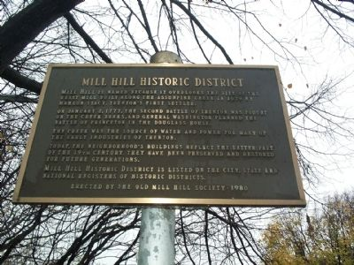 Mill Hill Historic District Marker image. Click for full size.