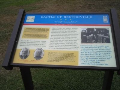 "Battle of Bentonville - ""In suffering condition"" image. Click for full size."