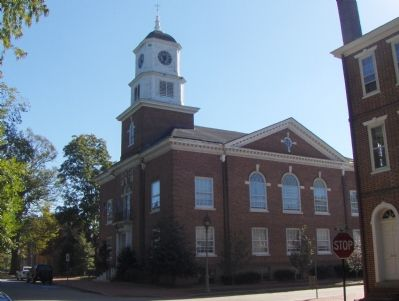 The Old Kent County Court House which now occupies the site. image. Click for full size.