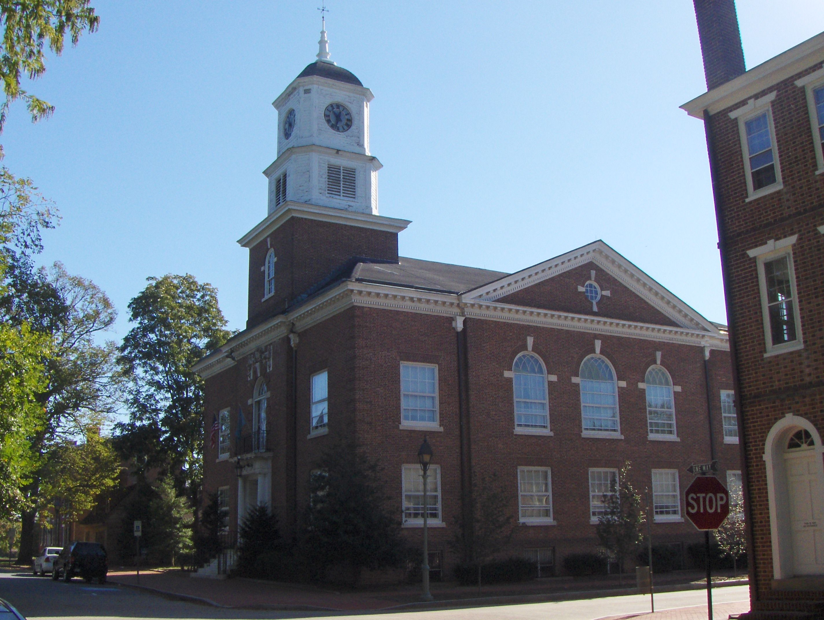The Old Kent County Court House which now occupies the site.