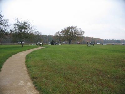 Driving Tour Stop Three at the Chancellorsville House Site image. Click for full size.