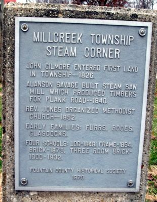 Steam Corner Marker image. Click for full size.