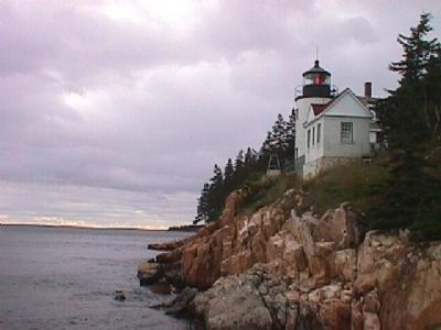 Bass Harbor Head Light image. Click for full size.