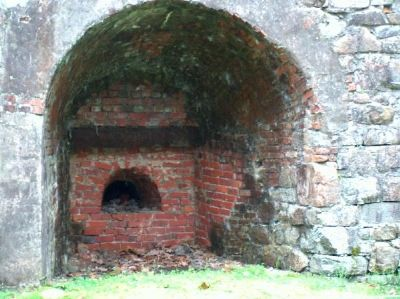Nassawango Iron Furnace image. Click for full size.
