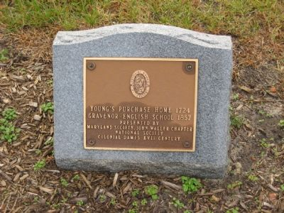 Young's Purchase Home Marker image. Click for full size.