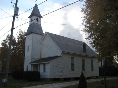 Whitehaven Methodist Episcopal Church image. Click for full size.