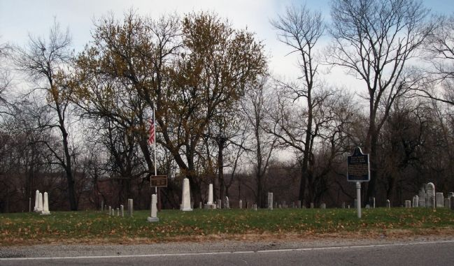 Old Pioneer Cemetery - Bratton's Resting Place. image. Click for full size.