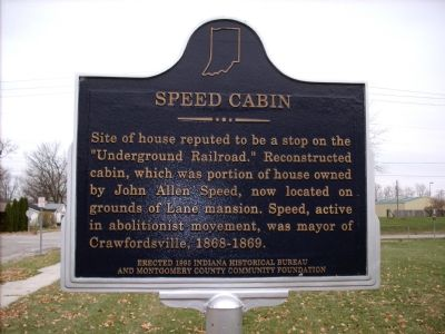 Speed Cabin Marker image. Click for full size.