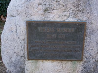 Teackle Mansion Marker image. Click for full size.