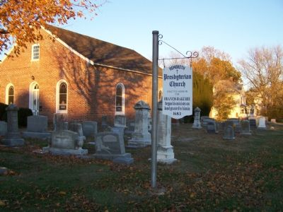 Rehoboth Church and Cemetery image. Click for full size.