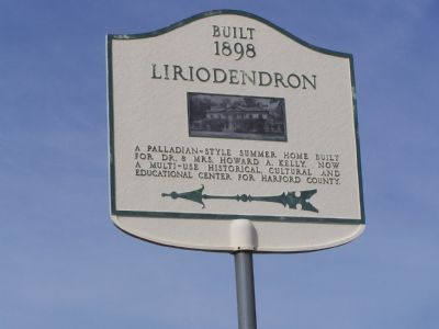 Built 1898 Liriodondron Marker image. Click for full size.